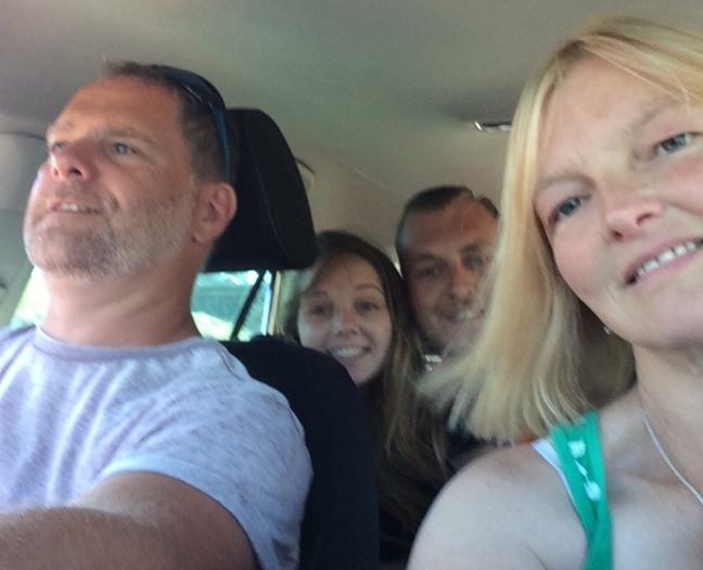 Car selfie 😂